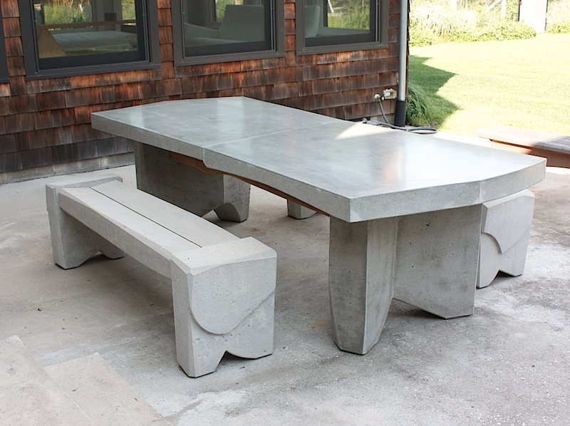 30 Elegant Cement Patio Furniture