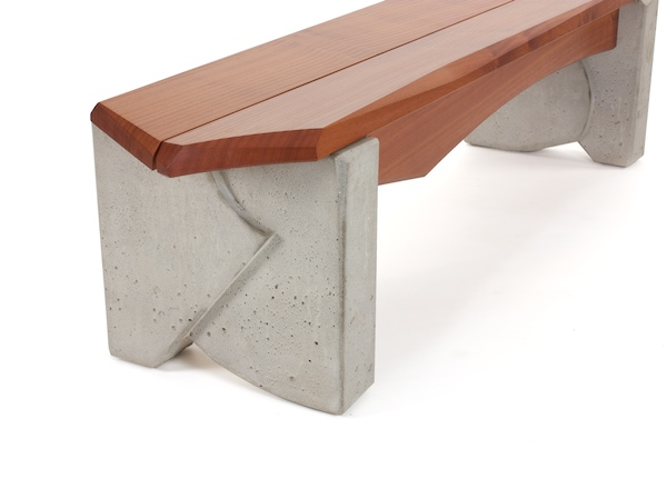 Outdoor Bench #6- detail