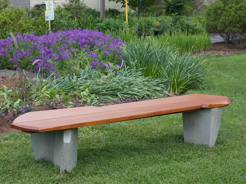 Outdoor benches handmade for the garden patio nico yektai Yard bench