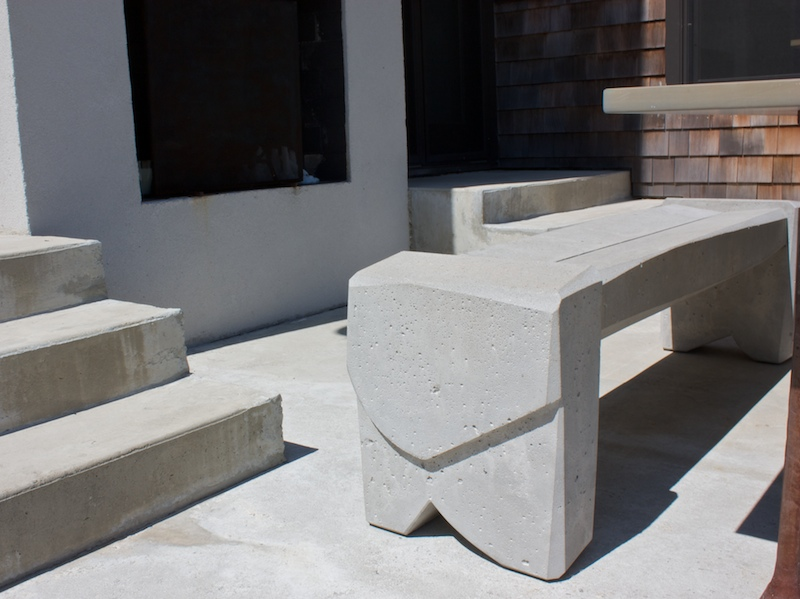 Nico Yektai Outdoor Bench 7 Modern Concrete Bench
