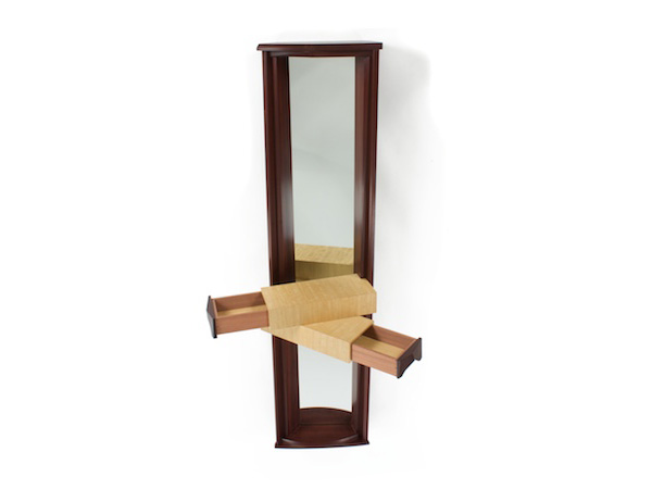 Mirror With Two Drawers- second view