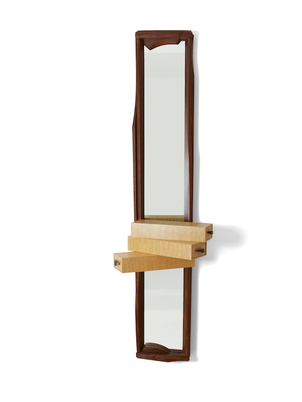 Entryway mirror that is tall and elegant