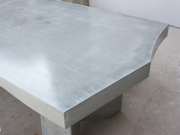 detail of concrete top