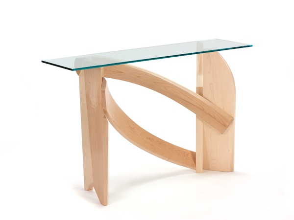 Glass Hall Table- second view