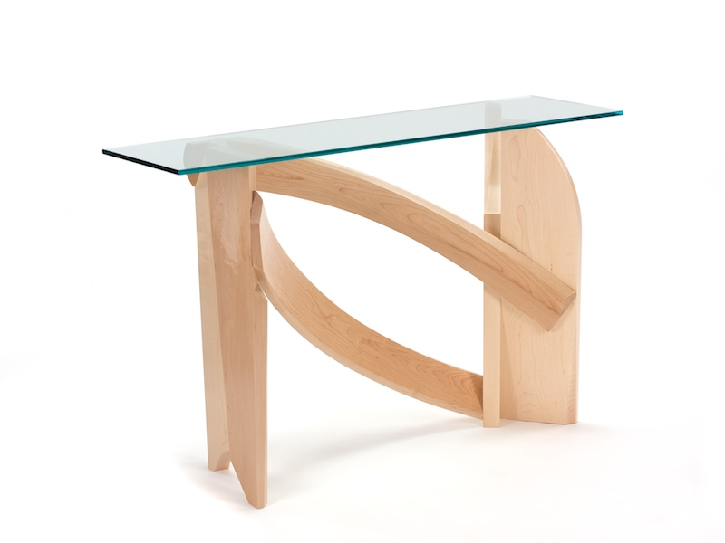 Beautiful Glass Hall Table  Second View